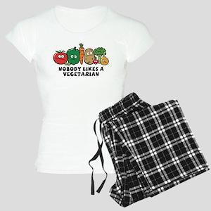 Nobody Likes a Vegetarian Women's Light Pajamas