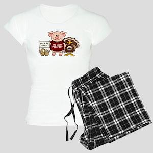 Holiday Dinner Campaign Women's Light Pajamas