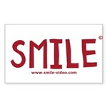 The Official SMILE! Rectangle Sticker
