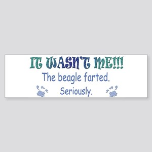 beagle Sticker (Bumper)