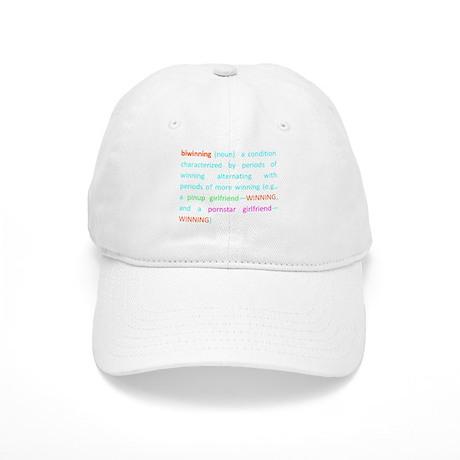 Biwinning in the Dictionary Baseball Cap by sexmaSHEEN 67eb823744b7