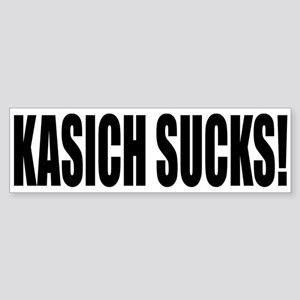 KASICH SUCKS! Sticker (Bumper)