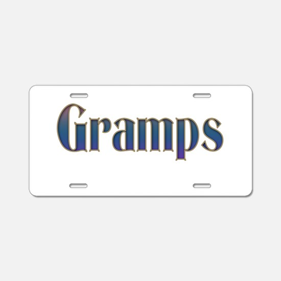 GRAMPS Aluminum License Plate