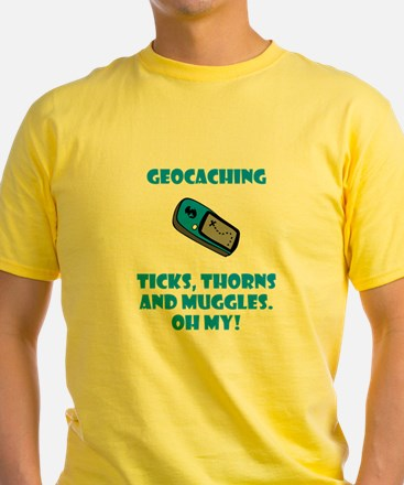 Geocaching Ticks Thorns Muggl T