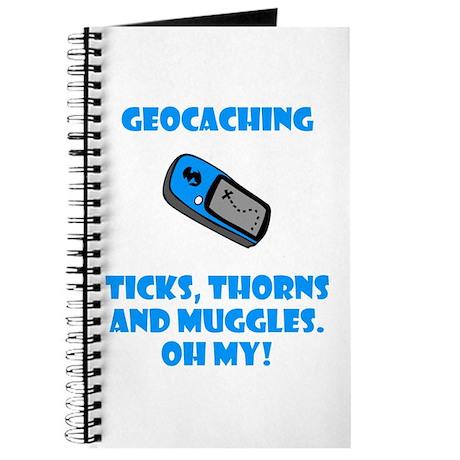 Geocaching Ticks Thorns Muggl Journal