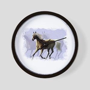 Horse shadows Wall Clock 10inch