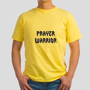 Prayer Warrior Yellow T-Shirt