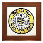 USS CONE Framed Tile