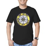 USS CONE Men's Fitted T-Shirt (dark)