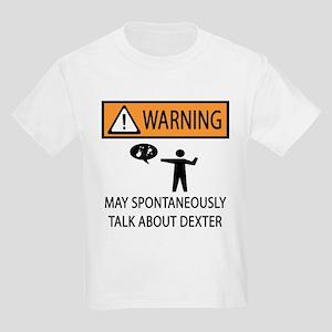 Spontaneously Talk Dexter Kids Light T-Shirt