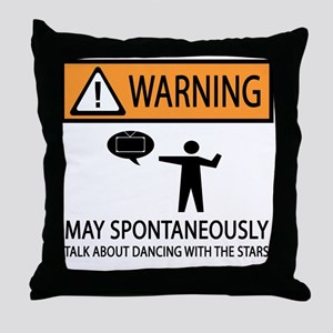 Spontaneously Talk Dancing With the Stars Throw Pi