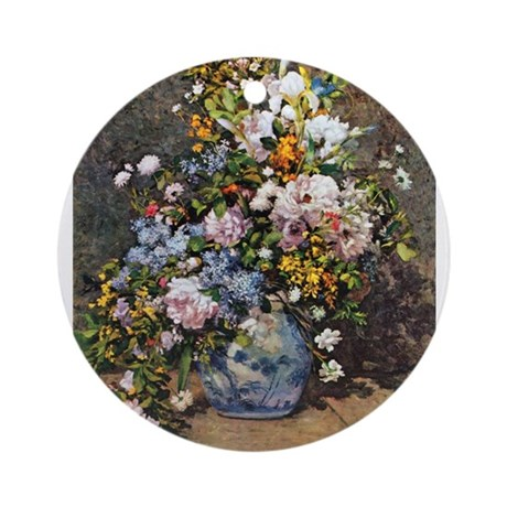 Bouquet of Spring Flowers Ornament (Round)