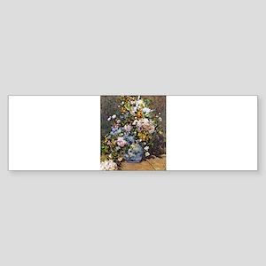 Bouquet of Spring Flowers Sticker (Bumper)