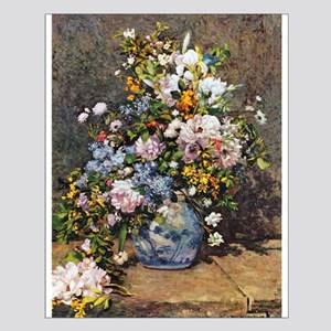 Bouquet of Spring Flowers Small Poster