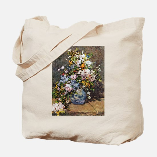 Bouquet of Spring Flowers Tote Bag