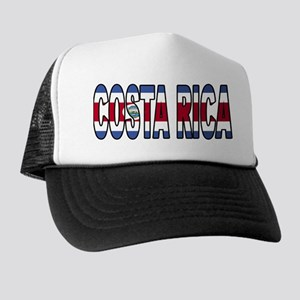 Costa Rica Soccer Flag  Trucker Hat