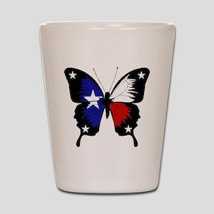 Texas Butterfly Shot Glass