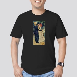 Dance in the Country Men's Fitted T-Shirt (dark)