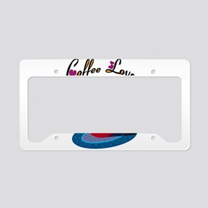 Coffee Lover License Plate Holder