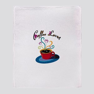 Coffee Lover Throw Blanket