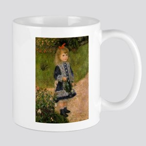 Girl with Watering Can Mug