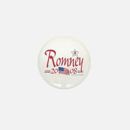 Romney for President 08 Mini Button