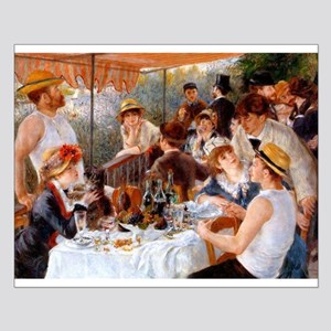Luncheon of the Boating Party Small Poster