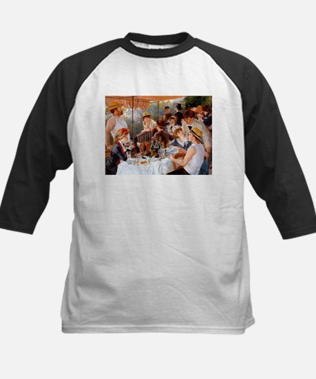 Luncheon of the Boating Party Kids Baseball Jersey