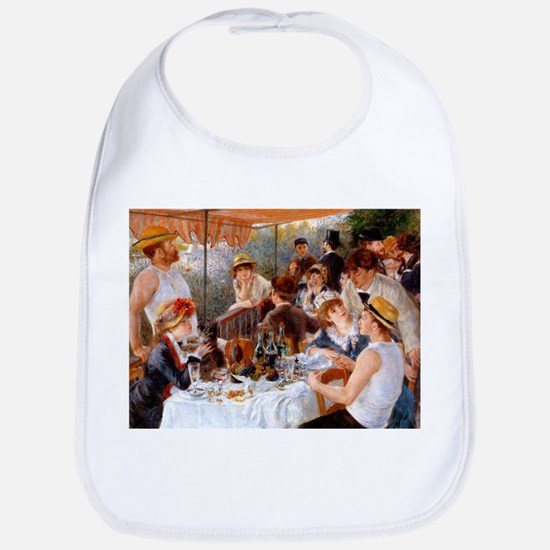 Luncheon of the Boating Party Bib