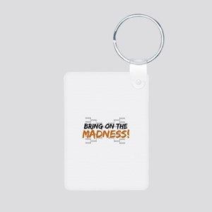 Bring on March Madness Aluminum Photo Keychain