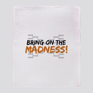 Bring on March Madness Throw Blanket