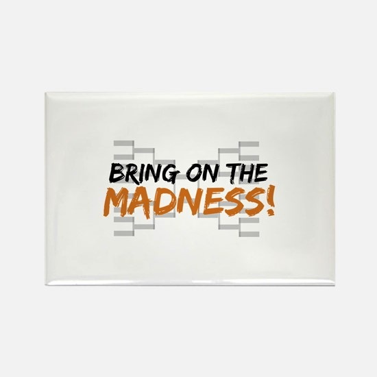 Bring on March Madness Rectangle Magnet