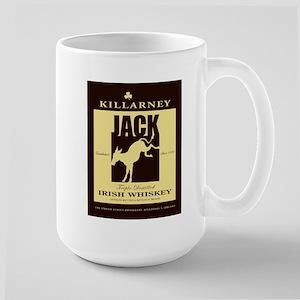 Irish Jack Ass Whiskey Large Mug