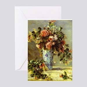 Roses and Jasmine Greeting Card