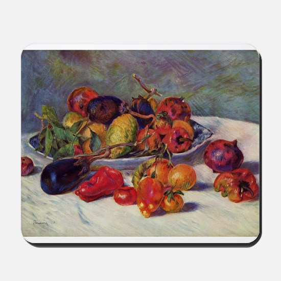 Still Life With Fruit Mousepad