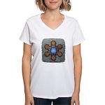 Women's V-Neck T-Shirt - Forgiveness