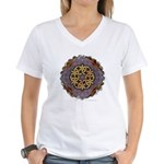Women's V-Neck T-Shirt - Unity