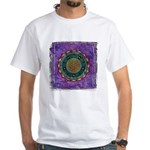 White T-Shirt - Awakeing To Higher Consciousness