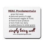 REAL Foodamentals Mousepad