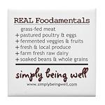 REAL Foodamentals Tile Coaster