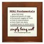 REAL Foodamentals Framed Tile