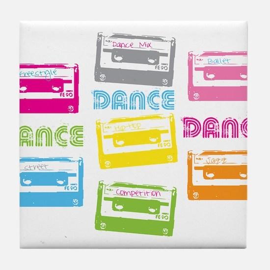 Unique Mix tape Tile Coaster