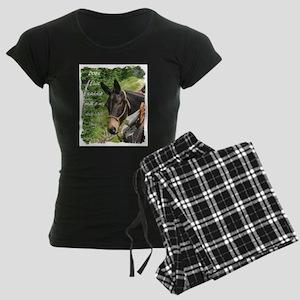 Mule Women's Dark Pajamas