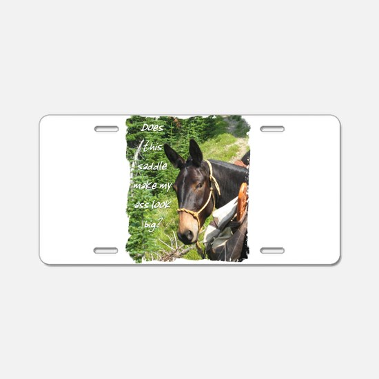 Mule Aluminum License Plate