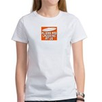 ALIENS ARE LAUGHING AT US Women's T-Shirt