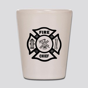 Fire Chief Shot Glass