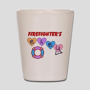 Firefighter's Baby Shot Glass