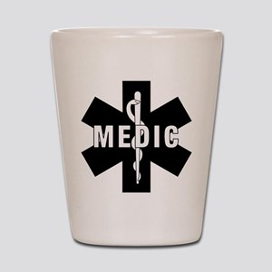 Medic EMS Star Of Life Shot Glass