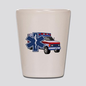 EMS Ambulance Shot Glass