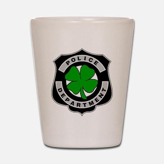 Irish Police Officers Shot Glass